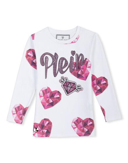 T-shirt Round Neck LS Pride Clarissa