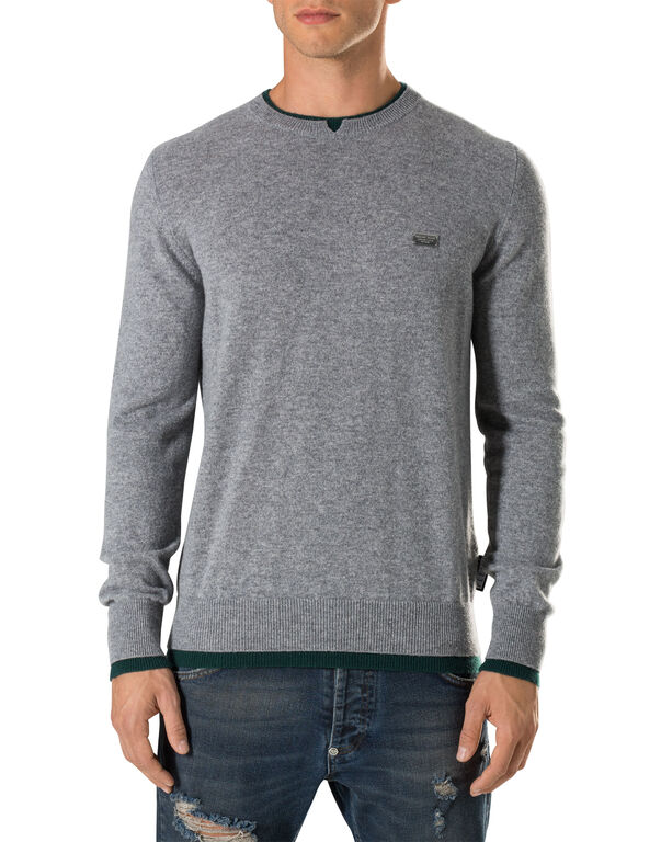 """Pullover Round Neck LS """"Simply"""""""
