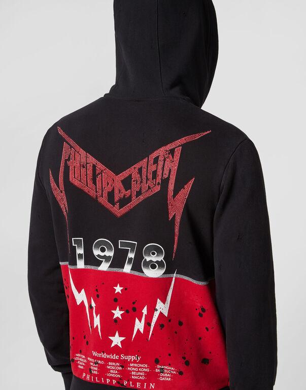 Hoodie Sweatjacket Rock PP