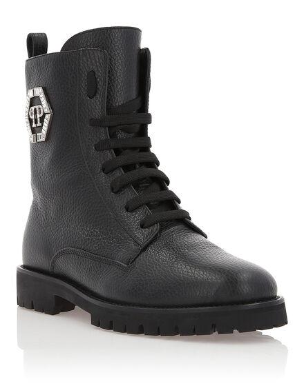Boots Low Flat Moonlight