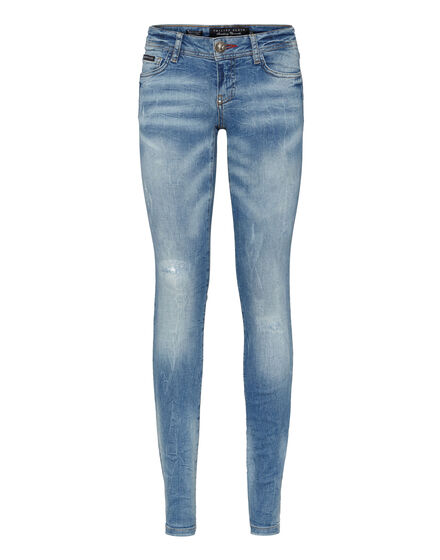 slim fit denim holy chic
