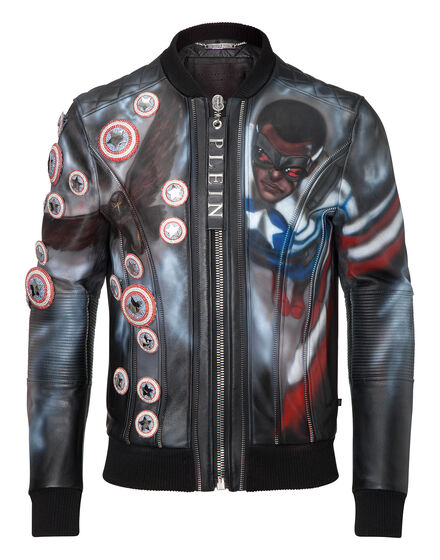 leather jacket valley