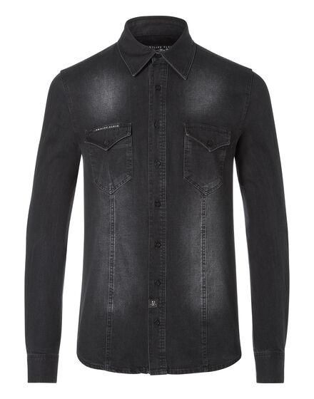 Denim Shirt Ls By me
