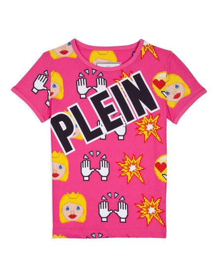 t-shirt dot plein
