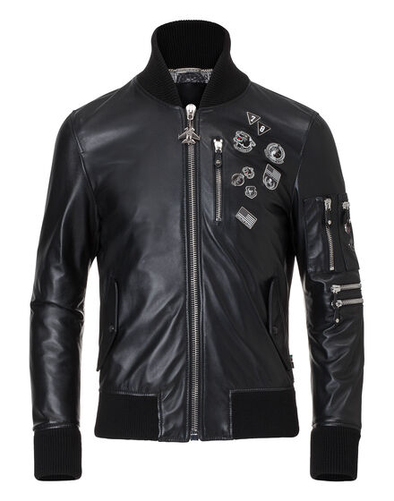leather bomber prize
