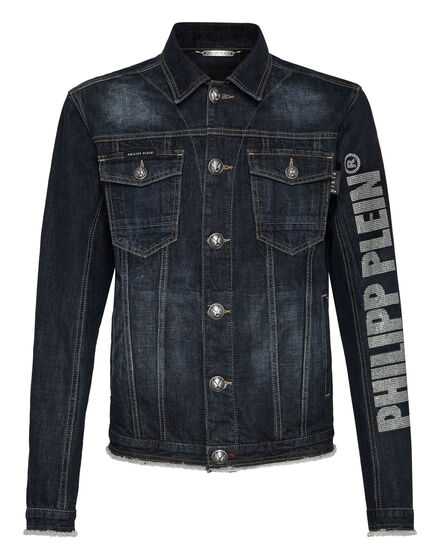 Denim Jacket Flame