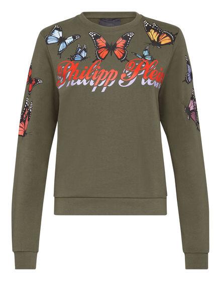 Sweatshirt LS Butterfly