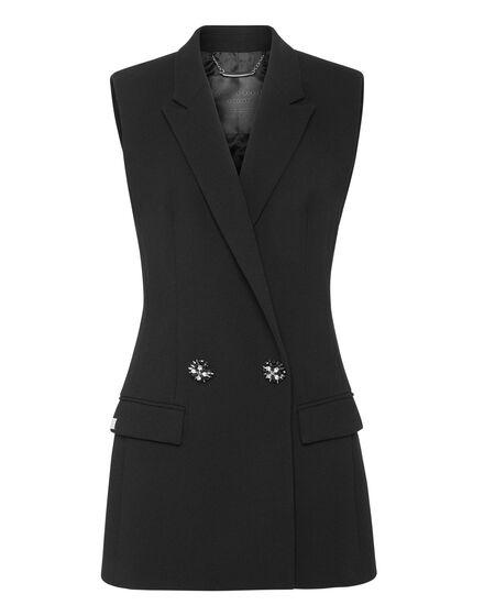 Short Vest Crystal