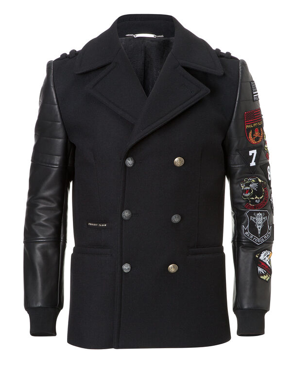 "coat ""double pride"""