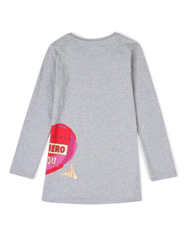 "t-shirt dress ""hold my hand"""