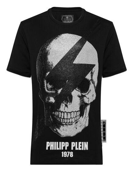 T-shirt Platinum Cut Round Neck Thunder