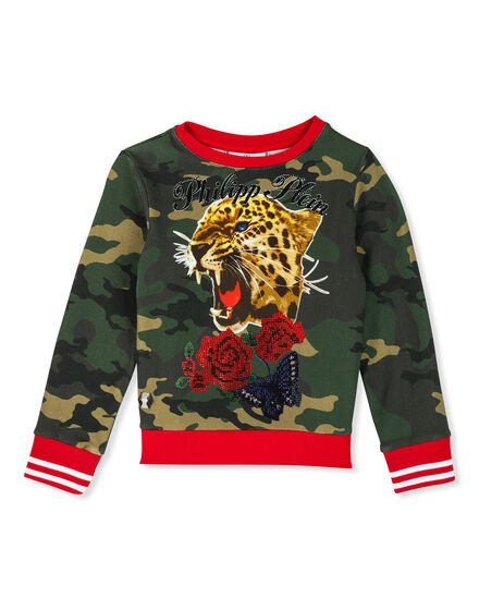 Sweatshirt LS Tiger girl