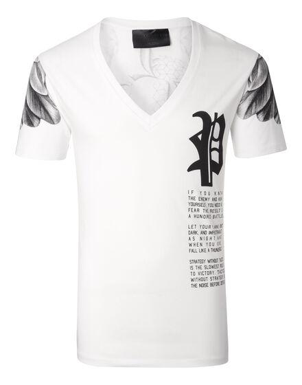 T-shirt V Neck SS Minaka