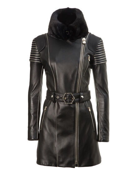 leather trench my pupil