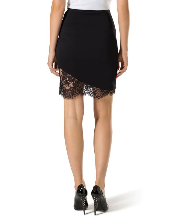 "Short Skirt ""Pizzo Sea"""