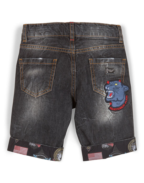 "denim shorts ""terence"""