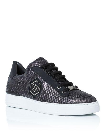 Lo-Top Sneakers skull slate
