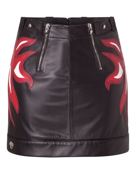 Leather Skirt  Anseropoda