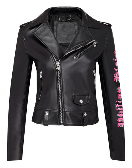 Leather Biker Angel