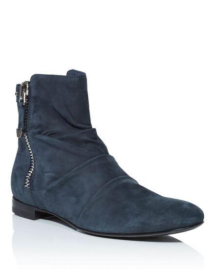 Boots Mid Flat Mexican mood