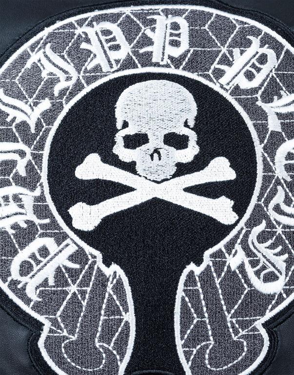 "Leather Biker ""Black Circle"""