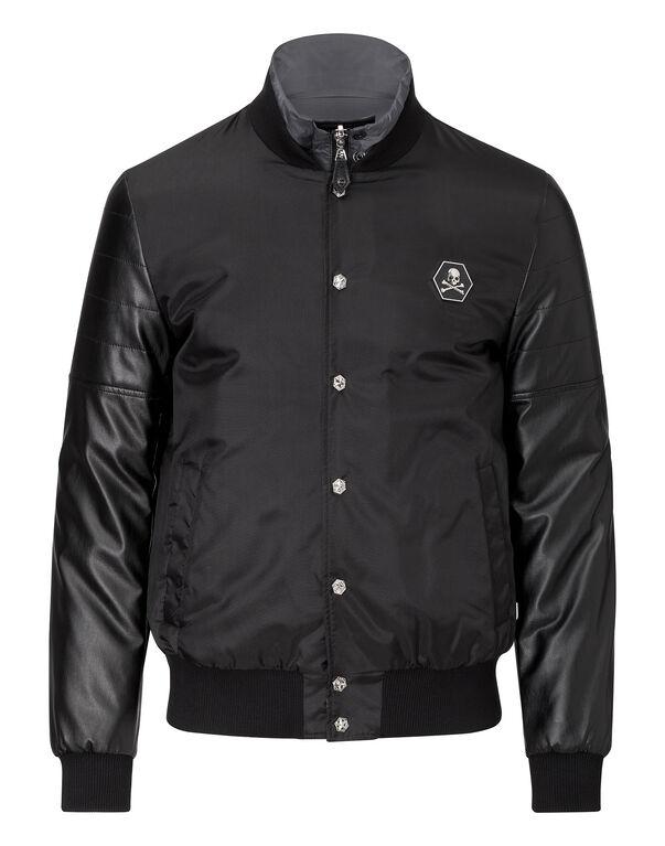 """nylon jacket """"enrich me"""""""