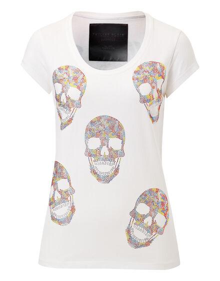 T-shirt Round Neck SS Balinay Skulled
