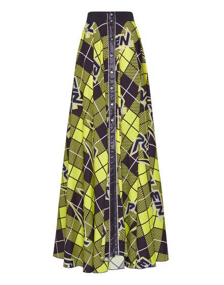 Long Skirt Tartan