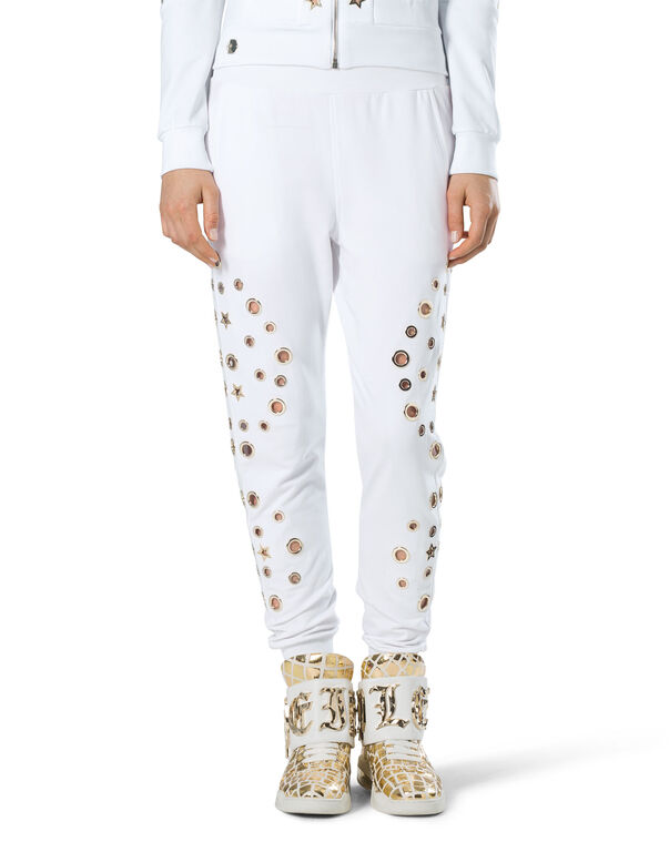"Jogging Trousers ""Eyelets"""
