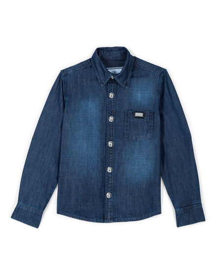 Denim Shirt Ls Boss boy