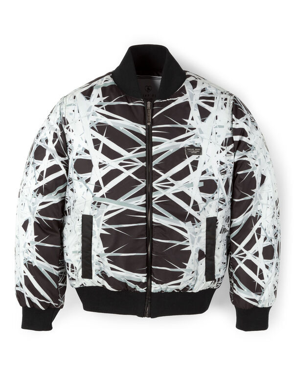"nylon jacket ""chaos"""