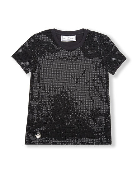 T-shirt Round Neck SS Crystal