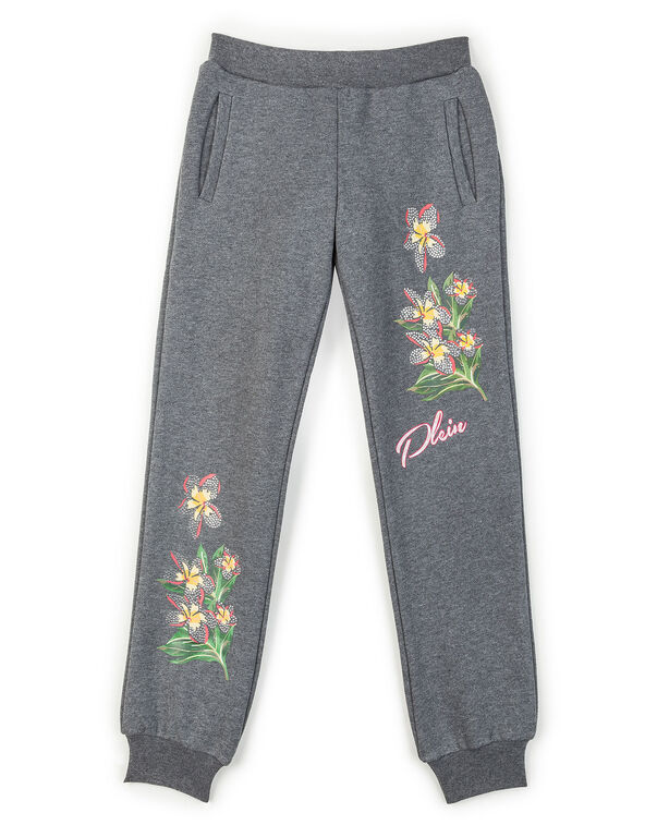 "Jogging Trousers - ""Bouquet Parrot"""
