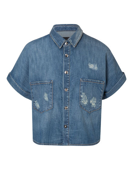Denim Shirt SS Williamsburg