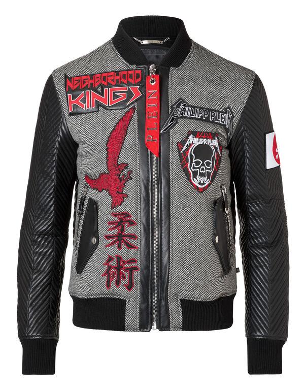 """Leather Bomber """"Kenji"""""""