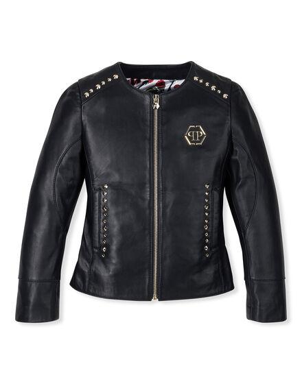 Leather Jacket Play Around