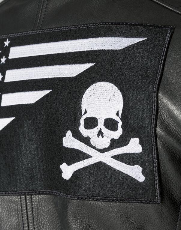 Leather Jacket Bad Boy Philipp Plein Outlet