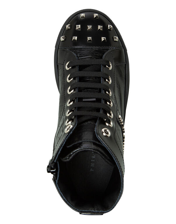 "Hi-Top Sneakers ""Pluto"""