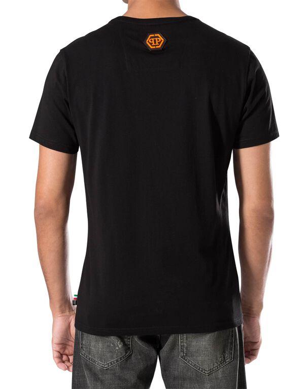 """T-shirt Round Neck SS """"Weezer"""""""