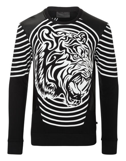 Sweatshirt LS Tribal tiger