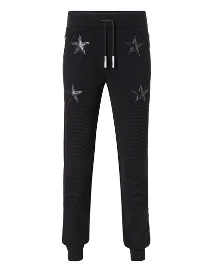 Knit Jogging Trousers Hot