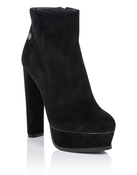 bootie high heels claudya
