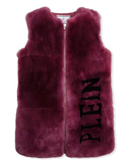 Fur Vest Long Gorgeous