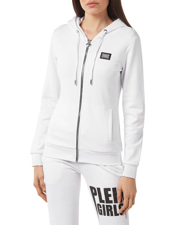 "Hoodie Sweatjacket ""Plein Girls"""