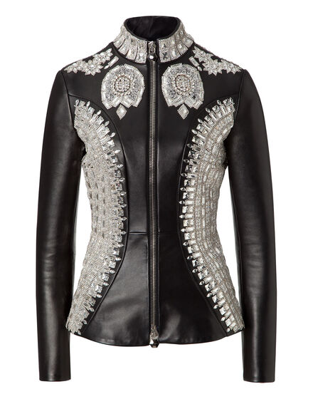 leather jacket vogue