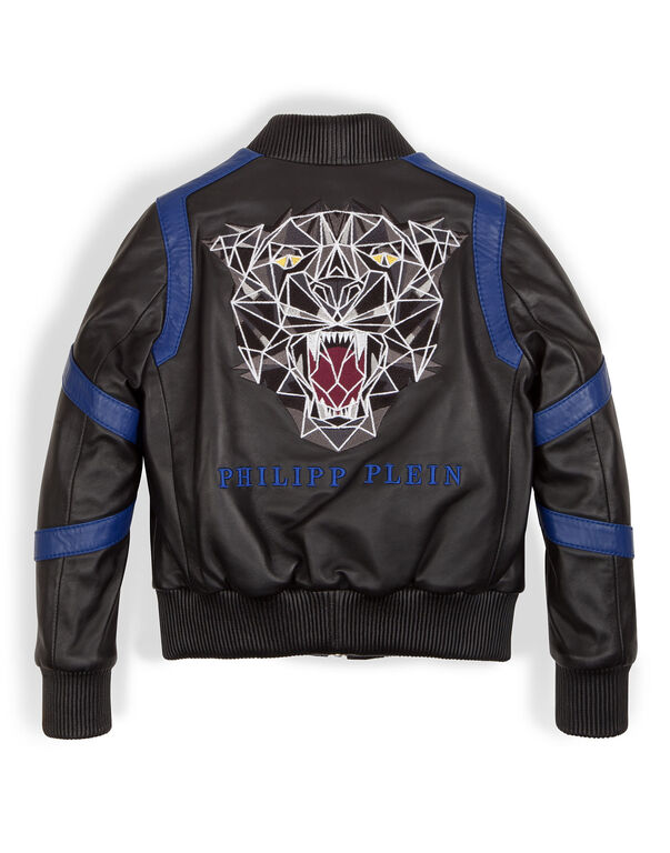 "leather jacket ""pantera"""