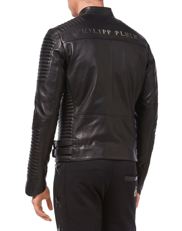 "Leather Jacket ""Antosha"""