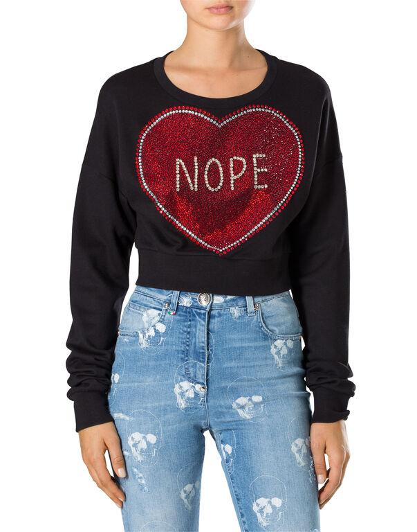 """Sweatshirt LS """"Trought her"""""""