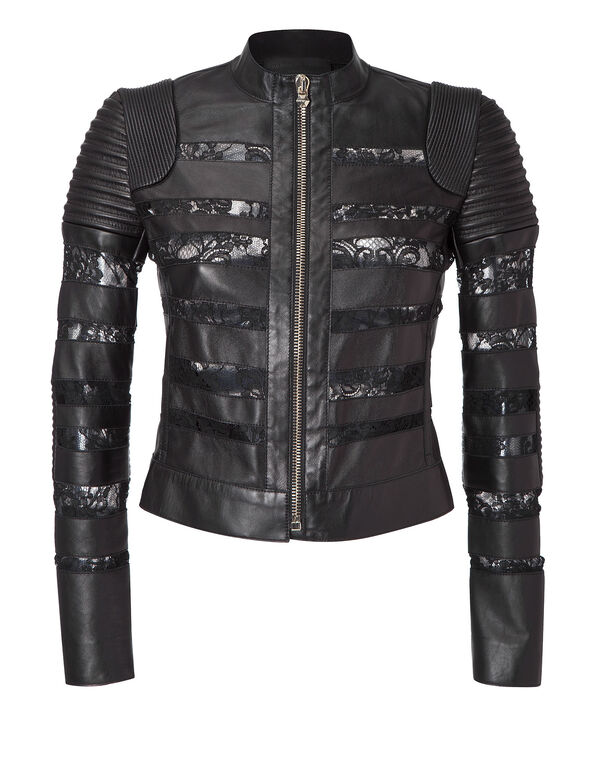 "leather jacket ""priority"""