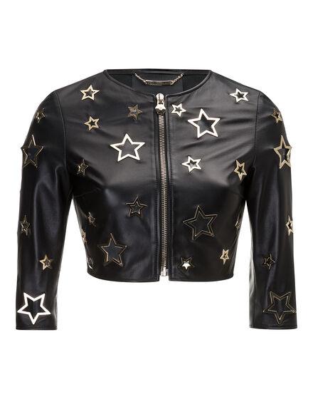 Leather Bolero Cannot